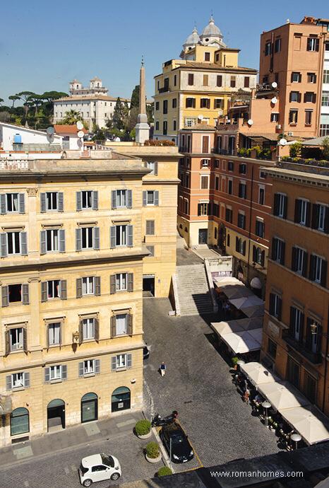 The Neighbourhood Of The Spanish Steps Rome Seagulls