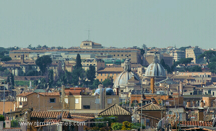 Views From The Terrace Of The Spanish Steps Rome Seagulls