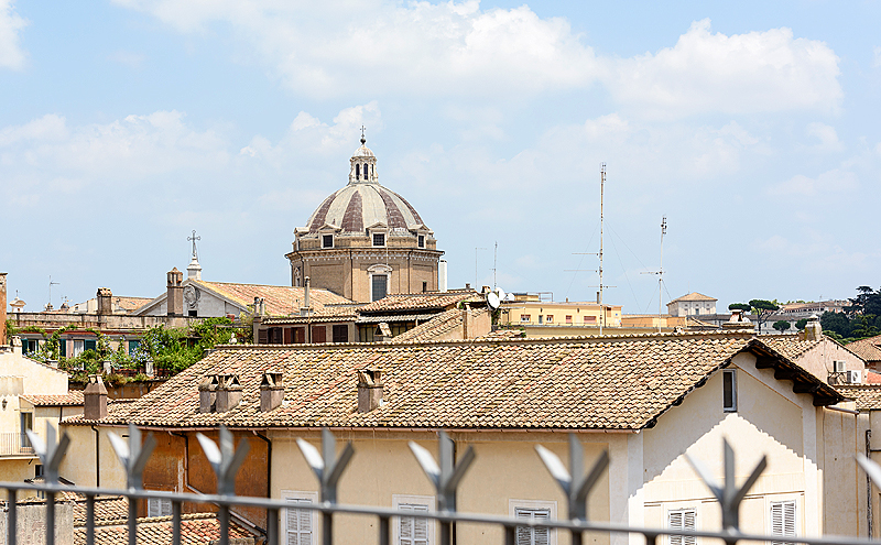 Terrace views of rome from the jewish ghetto campo de for 4 church terrace docking