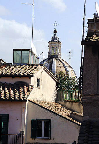 Roman Roofs Panoramic Attic The Detailed Views From The