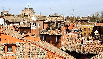 Rome Piazza Navona Top Floor Panoramic One Bedroom