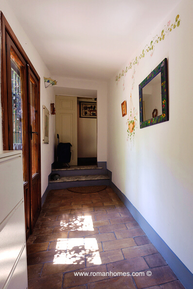 The Entrance Of The Rome Navona Signora A Two Bedroom