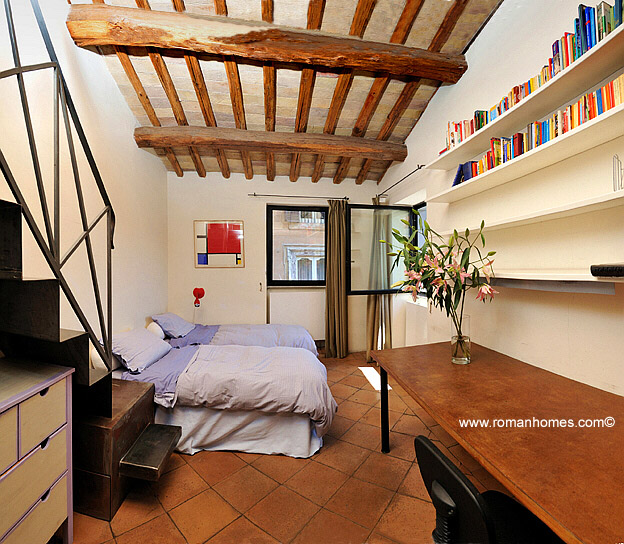 First double bedroom of Rome Navona square elegant four bedroom ...