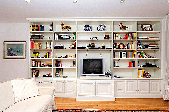 tv bookcases