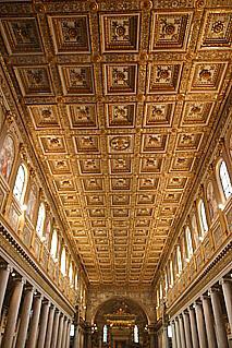 Rome Basilica Of St Mary Major Or Santa Maria Maggiore In