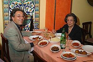 Rome Jewish Restaurant Alfonso Interior