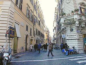 Rome Spanish Steps Via Della Croce Apartment Rentals