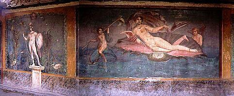 Росписи в помпеи и геркуланума