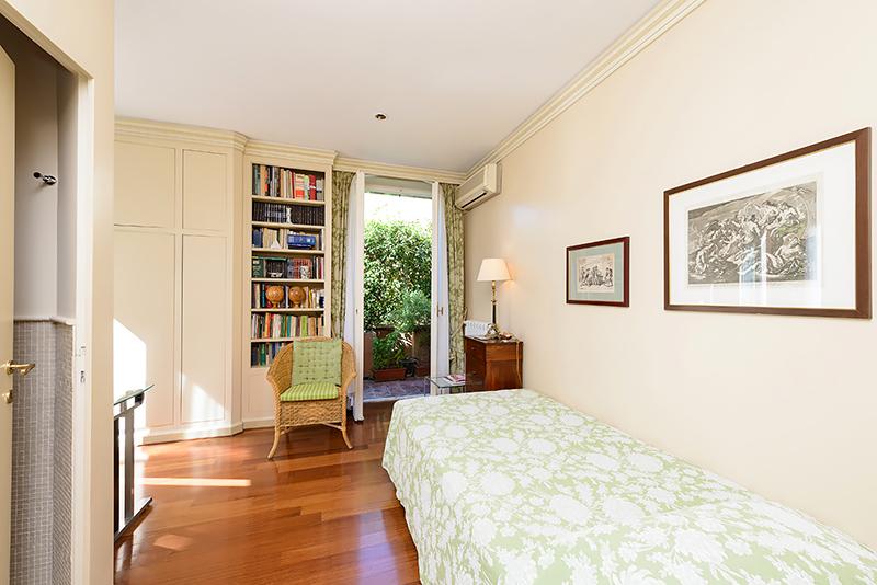 Single Room Seen From Its Door